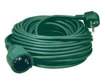 Dugós lengő hosszabbító 5m H05VV-F / Zöld (földelt)