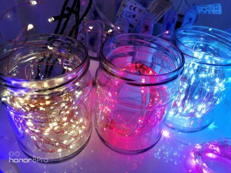 Karácsonyi LED ablakdísz színes Karácsonyfa beltéri (elem nem tartozék)