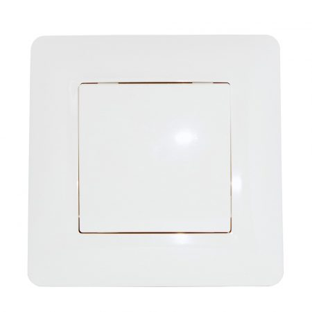 ECO 1-es kapcsoló egypólusú / alternatív Fehér / kétféle