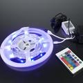 LED szalag szett 5m RGB szalag kültéri + infra vezérlő + tápegység / 2 év garancia