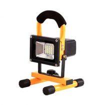 LED reflektor 20W HidegFehér AKKUS 6000K IP65 700Lm 5év garancia
