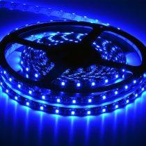 LED szalag Kék beltéri 2835 60LED 4,8W 5év garancia