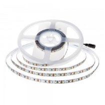 LED szalag HidegFehér beltéri 2835 120LED 9,3W 6000K 5év garancia