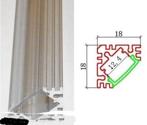 Alusin sarok szett takaróval 1m (L) / beépithető sarok