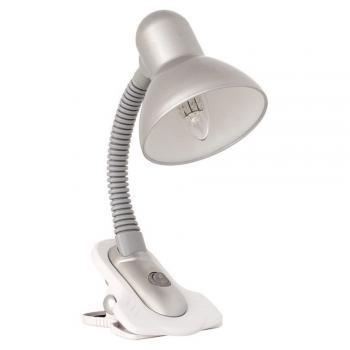 Kanlux SUZI asztali lámpa E27 60W ezüst / csiptetős