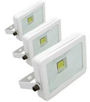 LED reflektor 10W HidegFehér, 6000 Kelvin, 780 luemn, IP65  5 év garancia