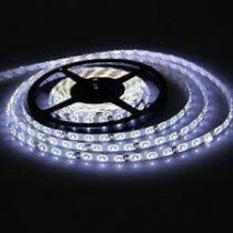 LED szalag HidegFehér kültéri 3528 120LED 9,6W 6000K IP65 5év garancia