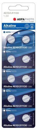 AGFA elem LR54 AG10/LR1130 1,5V
