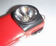 LED fémházas elemlámpa / RETRO (elem nem tartozék)