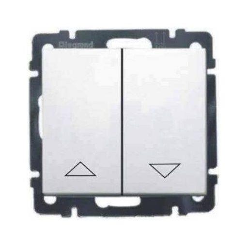 VALENA LIFE redőnykapcsoló /fehér 2 nyilás, billenős
