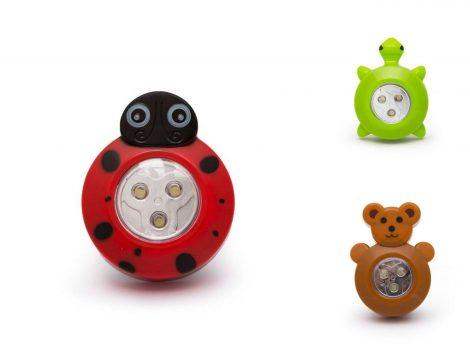 LED állatfigurás gyermeklámpa / éjszakai fény (elemes - nem tartozék)