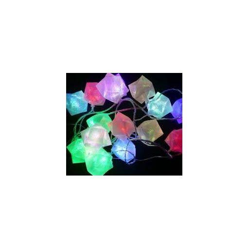 Karácsonyi LED füzér ajándékdoboz RGB/bel-,  kültéri  2év garancia