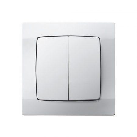 ECO 2-es csillárkapcsoló Fehér / kétféle