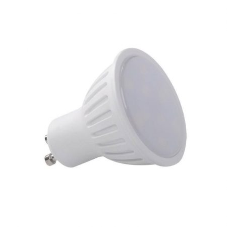 LED spot égő GU10 6W HidegFehér/6000 Kelvin ,450 lumen tejüveg / Kanlux 3 év garancia