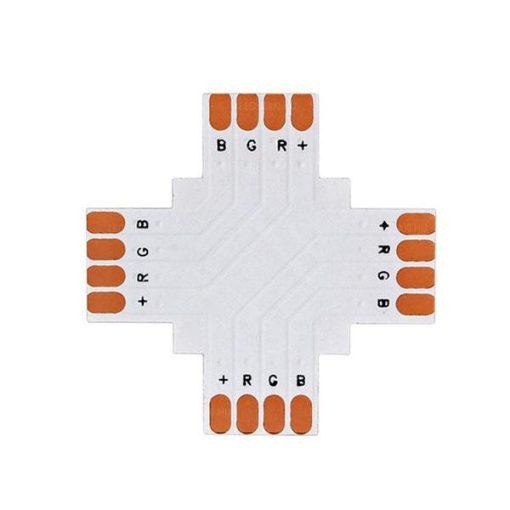 LED szalaghoz elosztó elem (L,T,X irányú) RGB