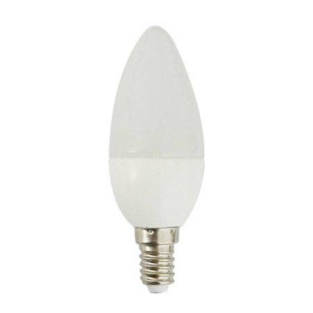 LED gyertya égő 7W E14 HidegFehér/6000 K, 710 lumen 3 év garancia