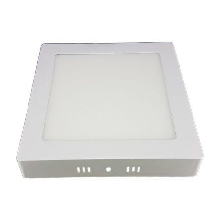 LED panel kocka 24W KözépFehér 4000K falon kivüli 2év garancia