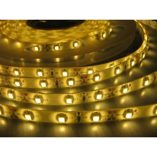 LED szalag MelegFehér beltéri 5050 60LED 13,2W 2700K 2év garancia