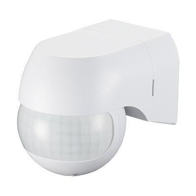 Mozgásérzékelő oldalfali IP44 Fehér kicsi / 199007