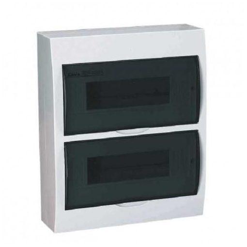 Lakáselosztó doboz / falon kivüli 2x12