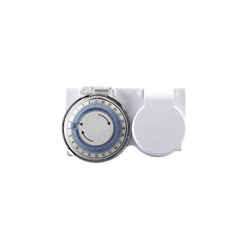 Mechanikus időkapcsoló napi 24h/15' IP44 kültéri / Home