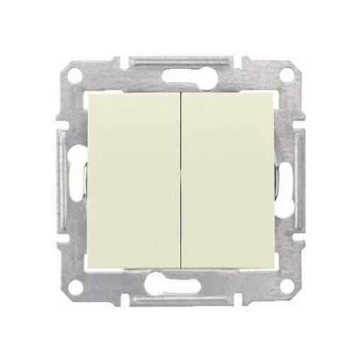 SEDNA 2-es csillárkapcsoló 105 IP44 / Bézs