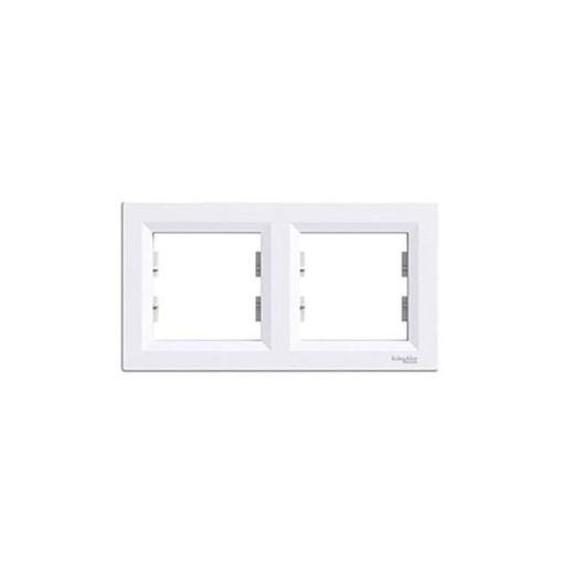 ASFORA 2keret vízszintes / Fehér