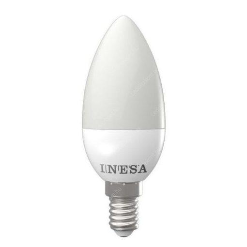 LED gyertya égő 3W E14 MelegFehér/2700K 250 lumen 3 év garancia