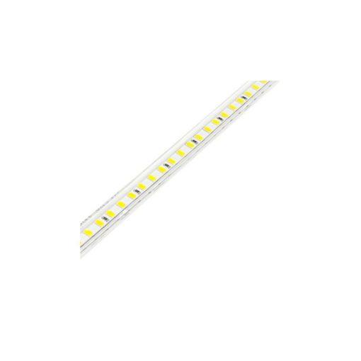 LED szalag HidegFehér/MelegFehér 220V (átlátszó armatúrában komplett)