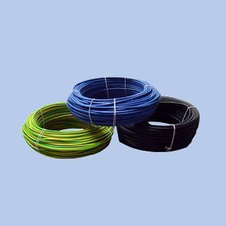 H07V-U merev 1x2,5 Zöld-Sárga