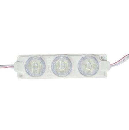 LED modul 5050 MelegFehér 3LED 3000K IP65 2 év garancia