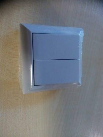 Business csillárkapcsoló 2-es falon kívüli / beltéri Fehér