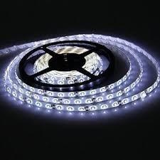 LED szalag HidegFehér kültéri 2835 120LED 9,3W 6000K IP65 2 év garancia