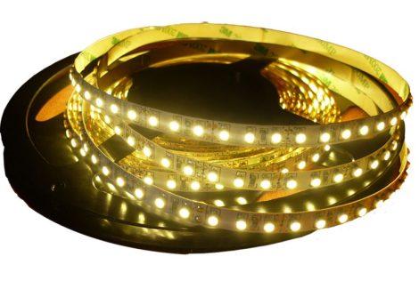 LED szalag MelegFehér beltéri 3528 120LED 9,6W 2700K 2 év garancia