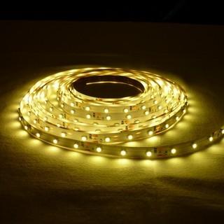 LED szalag MelegFehér beltéri 2835 60LED 4,8W 2700K 2 év garancia
