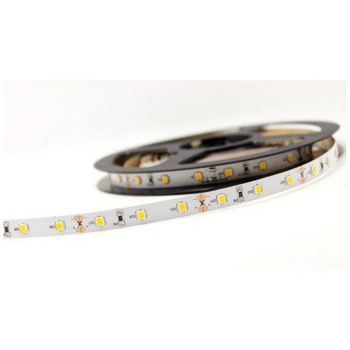 LED szalag MelegFehér kültéri 2835 60LED 4,8W 2700K IP65 2 év garancia
