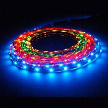LED szalag RGB /színváltós/ beltéri 5050 60LED 14,4W 2 év garancia