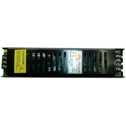 LED trafó 12V IP20 120W / lapos 2 év garancia