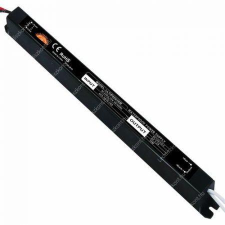 LED trafó 12V IP65 30W 2 év garancia
