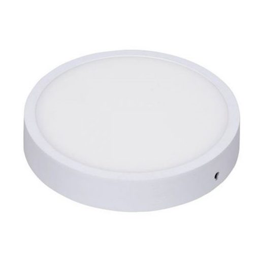 LED ufo lámpa 12W kör HidegFehér/6000 K 900 lumen  IP65 fehér 2 év garancia
