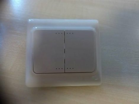 Legrand Kaptika csillárkapcsoló 2-es Fehér