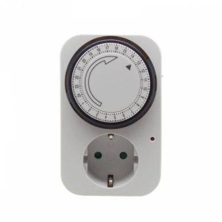 Mechanikus időkapcsoló 24h/15' IP20 beltéri / Home