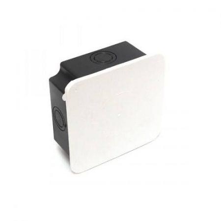 Kötődoboz süllyesztett 100x100 IP44 Fekete/Fehér