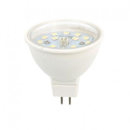 LED spot égő 7W MR16 MelegFehér 2700K 635 Lumen 12V 120° 3 év garancia