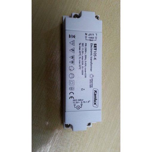 Elektronikus transzformátor halogénekhez SET105-K 105W
