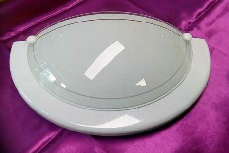 RABALUX/TREND LIGHT fali ufó lámpa E27 Fehér