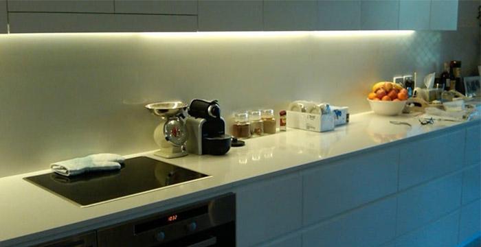 konyhapult ledes világítás ötletek